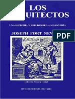 22. Los Arquitectos - Historia de la Francmasonería - Joseph Fort Newton