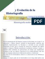 Historiografía Medieval- PPT