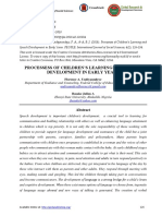 PROCESSESS OF CHILDREN'S LEARNING AND SPEECH DEVELOPMENT IN EARLY YEARS.pdf