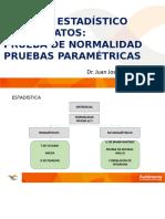 Sesión 6 Pruebas de Normalidad y Paramétricas