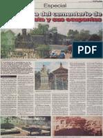 La historia del cementerio de La Apacheta y sus ocupantes