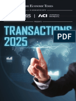 Transactions 2025 an Economic Times Report on the Future of Payments in India