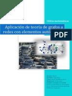 Aplicacion de La Teoria de Grafos a Redes Con Elementos Autonomos