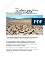 Calentamiento Global Mexico Al Gore