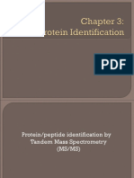 Chapter 3 Protein Identification