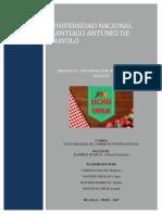 Proyecto de Exportacion Encurtido de Rocoto Uchu Inka