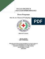 Epidemiologi (Tugas Online 2)Ok
