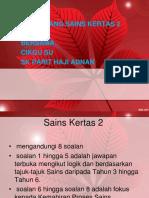 Sains Kertas 2 2018