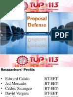 ProposalDefense Ng MALUPET