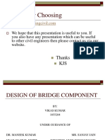 CEP-DESIGN OF BRIDGE COMPONENT by Vikas Dhawan.ppt