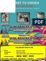 WA 0818-0927-9222 | Menjual Bracket Standing LED Yogies Bandung, Bracket Standing Bandung