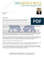Planning Resources Q3 2010 Investment Newsletter