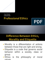 Professional Ethics Lecture 1