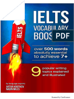 Ielts Vocabulary Boosters