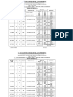 CAE - I Updated Seating III & v Sem