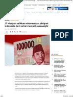 JP Morgan Naikkan Rekomendasi