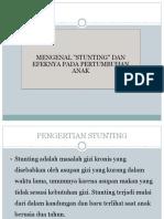 PENGERTIAN STUNTING.pptx