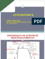 Antiaritmice - Farmacologie clinica