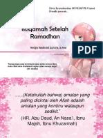 Cherry Jus - Istiqamah Setelah Ramadhan