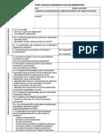 Plan Pentru Analiza Scenariului de Automedicatie