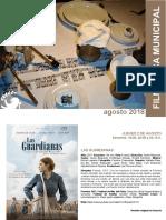 CULTURA | Filmoteca Municipal de Coslada / Agosto de 2018