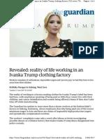 IVANKA Www.theguardian.com Us-news 2017 Jun 13 Revealed-realit