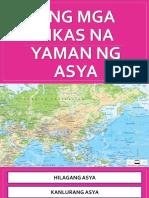 Ang Mga Likas Na Yaman Ng Asya