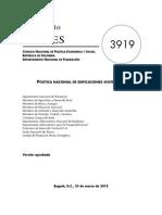 Conpes 3919 Criterios de Sostenibilidad en Edificaciones