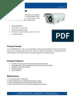 IT-SSD8XPOE-IR - Infrared POE Illuminator Camera Housing