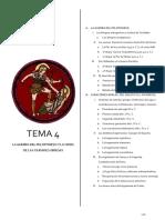 Tema 4 Guerra Del Peloponeso y Crisis de Las Ciudades Griegas