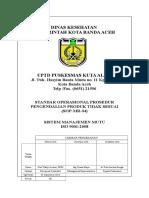 02. Pengesahan SOP-MR-04 Pengendalian Produk Tidak Sesuai