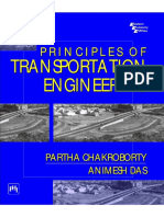 Partha Chakroborty, Animesh Das - Principles of Transportation Engineering