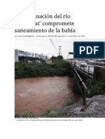 Noticia Completa de Que La Contaminaciòn de El Rìo Juan Dìaz Es Un Peligro