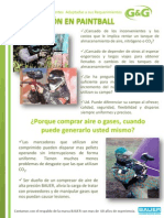Catalogo de Paintball G&G Equipos S.A.S