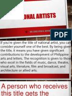 philippine national artist