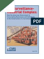 Aclu Surveillance Report