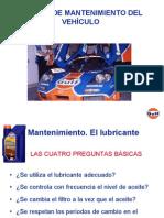 ACEITE PARA AUTOMÓVIL I
