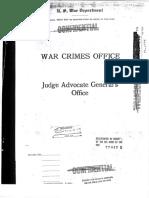 War Crimes Office