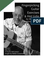 Fingerpicking Guitar Exercises Hot Licks 2