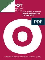 250 Idées Pour Redresser La France - Faudot 2017