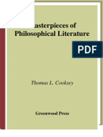 Cooksey, Thomas - Masterpieces of Philosophical Literature