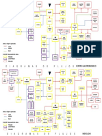 estudio de centros gastronomicos y mercados con diagrama de flujos