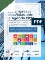 Las empresas españolas ante la #Agenda2030