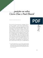 Cicero Dias e Paul Eluard