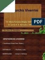 T Opistorchis Viverrini
