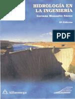 Hidrologia en La Ingenieria (G Monsalve S)