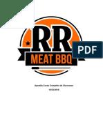 Apostila Curso Completo de Churrasco RR Meat BBQ