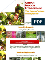 Urban Indoor Hydroponic Type of Urban Hydroponics Ver1