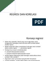 Regresi Korelasi (Output)