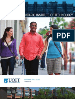 2011-2012 University of Ontario Institute of Technology Viewbook